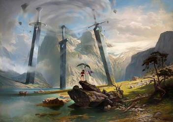 Luna + Nova - 3 Swords after Wilhelm Leu