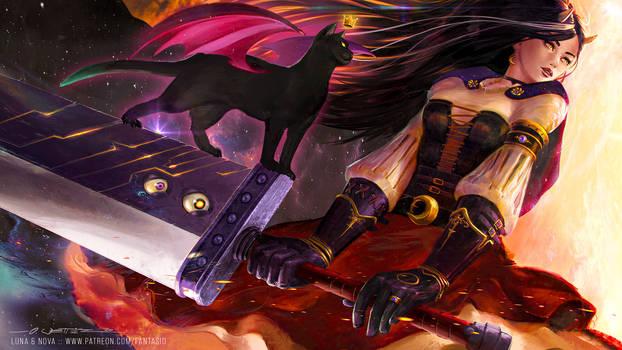 Luna + Nova - Buster-Schroedingers Revenge