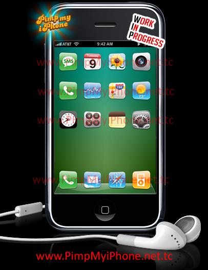 iPhone Theme Mockup 1 by PimpMyiPhone