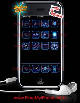 iPhone Theme Mockup 2