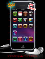iPhone Space Theme v1.1 by PimpMyiPhone