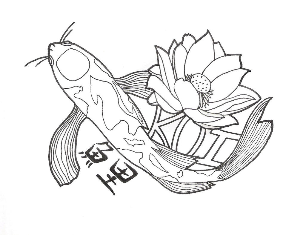 Koi Fish Tattoo - One of the