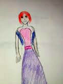 Random Lady in a dress by YukiUchiha21