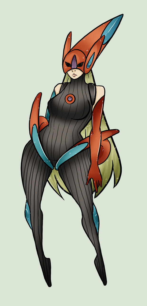 Deoxys-Gijinka by JustMiri on DeviantArt