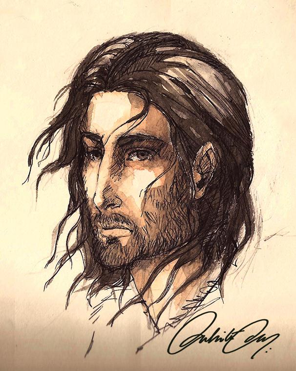 Benjen Stark by duhi