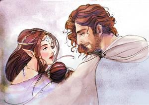 Aragon And Arwen