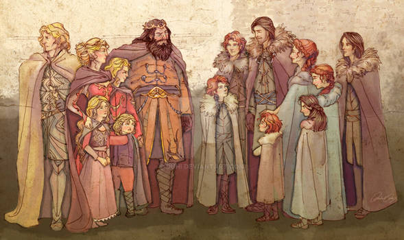 Where It All Began - Starks, Lannisters, Baratheon
