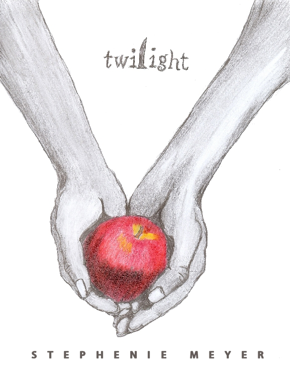 Twilight Book Cover Drawing : Twilight cover by jadexstar on deviantart