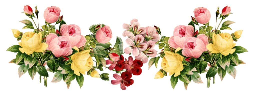 Vintage Floral Decor