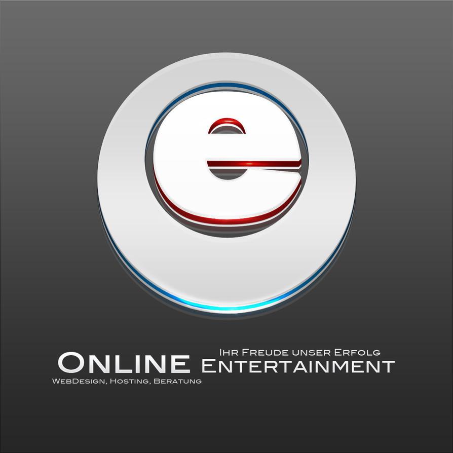Online Entertainment Logo by OneTime-Graffix on DeviantArt