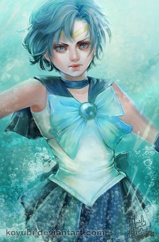 Sailor Mercury by Koyubi