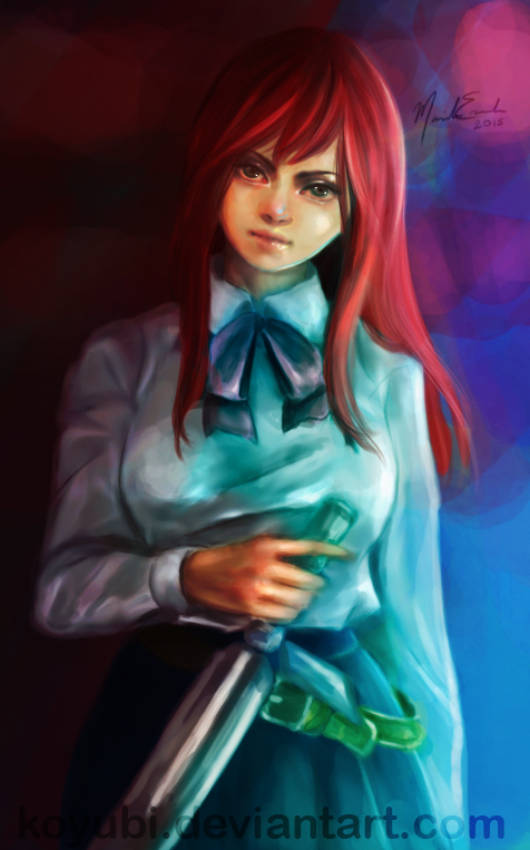 Erza Scarlet by Koyubi