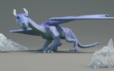 WIP Ice Dragon