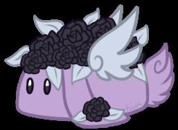 Gothic Rose Cake Bunbon by Kiwicide
