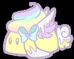 Vanilla Sprinkle Cupcake Bunbon