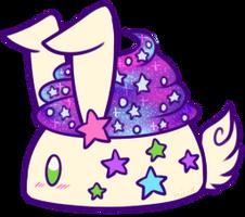 Galaxy Cupcake Bunbon