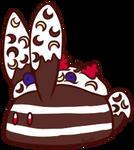 Chocolate Irish Whiskey Cake Bunbon