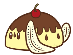 Banana Split Bunbon by Kiwicide