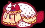 Berry Chantilly Lace Cake Bunbon