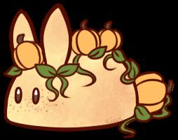 [CLOSED] Pumpkin Patch Cookie Bunbon by Kiwicide