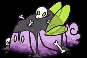 [CLOSED] Skull Sugar Cubes Bunbon by Kiwicide