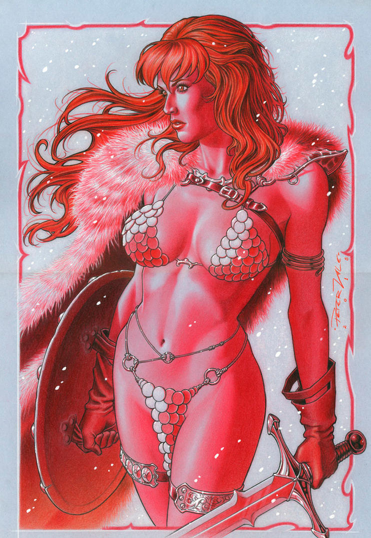 Red Sonja By Peter Vale by petervale