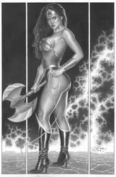 Wonder Woman By Pvale