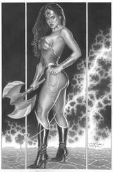 Wonder Woman By Pvale by petervale