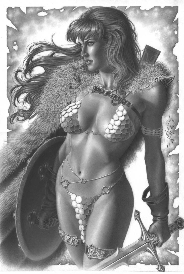 Red Sonja by petervale