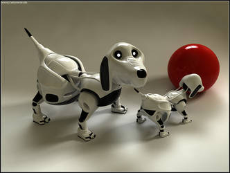 Robo Dogs by pixelpriester