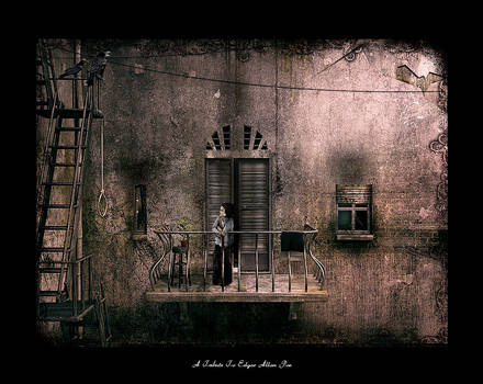 A Tribute to Edgar Allan Poe by pixelpriester