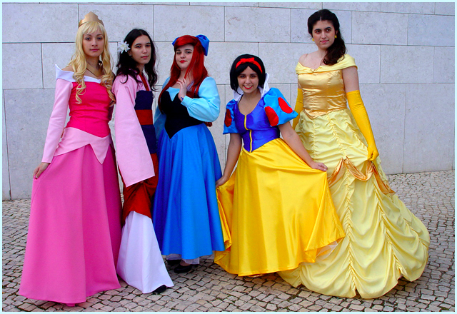 Disney Princesses Cosplay by Ana-D