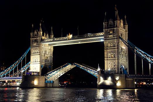 The Tower Bridge at Night