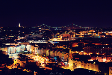 View over Lisbon