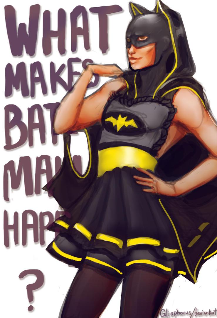 What Makes Batman Happy? by Gliophorus