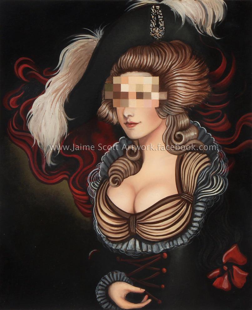 Pixelated Portrait (large) by Gliophorus