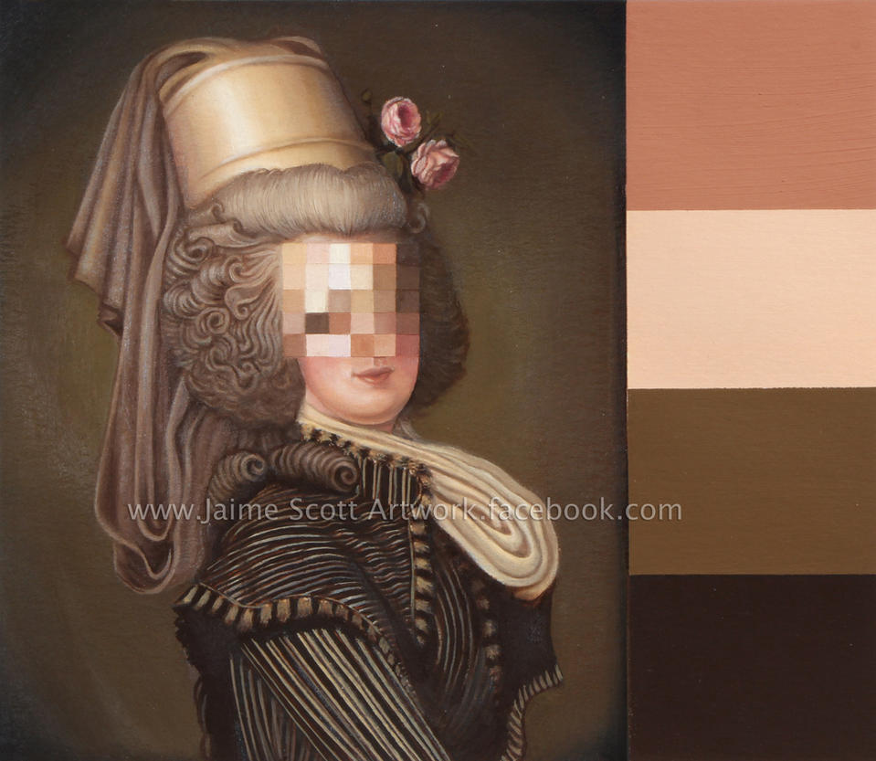 Pixelated Portrait (Small) by Gliophorus