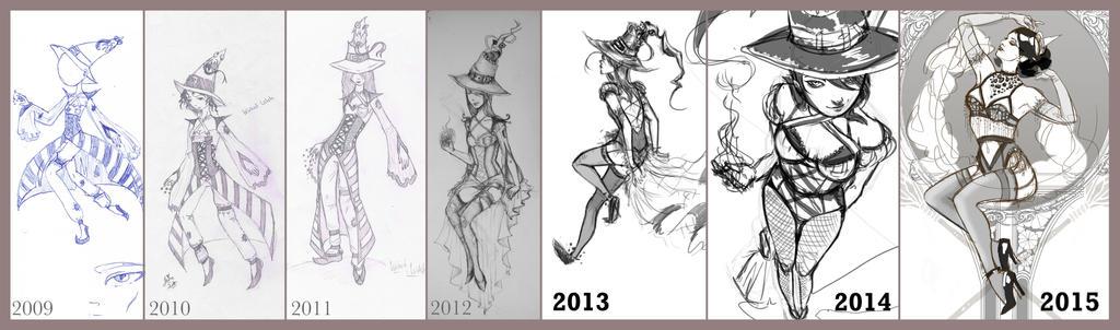 Wicked Witch Improvement by Gliophorus