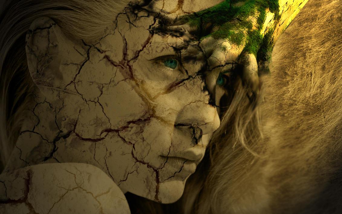 Earth element - Broken girl by dyramisty on DeviantArt