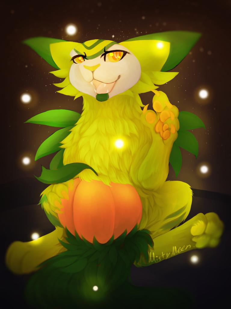 Pumpkin boi by MeenTheIceDragon