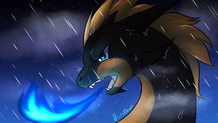 Under the storm by MeenTheIceDragon