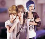 Life Is Strange - Max , Kate and Chloe