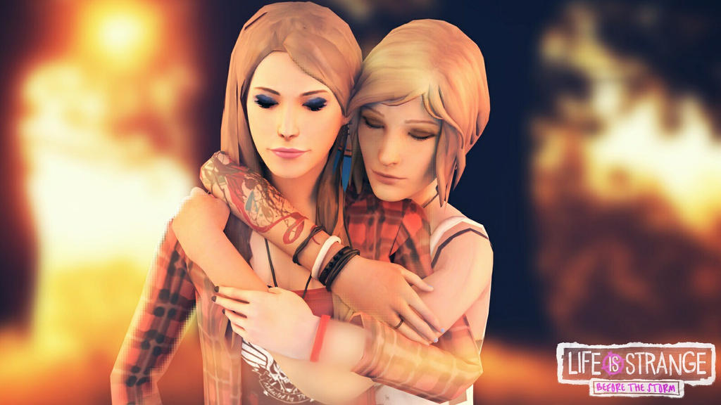 Life is Strange Before the Storm -Chloe and Rachel by ICYCROFT