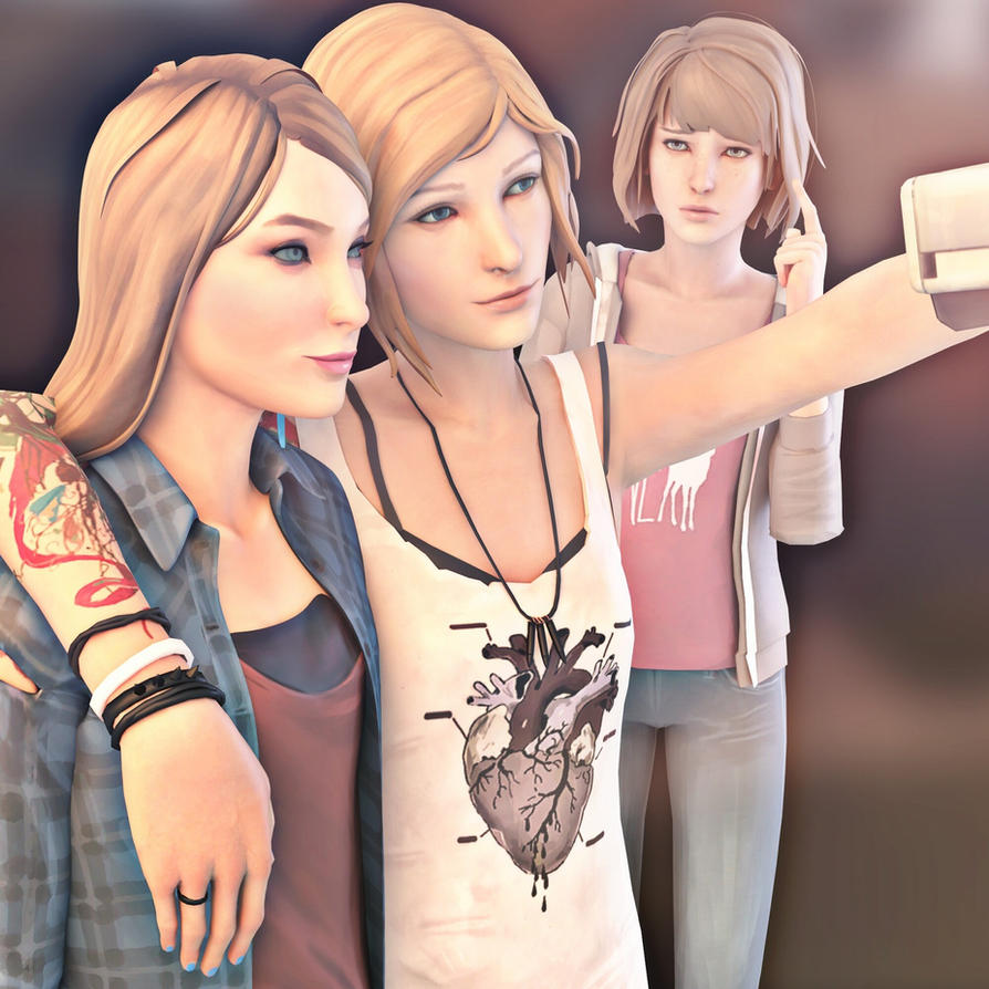 Life is Strange -Rachel,Chloe and Max by ICYCROFT
