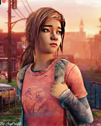 The Walking Dead Final Season- Clementine as Ellie