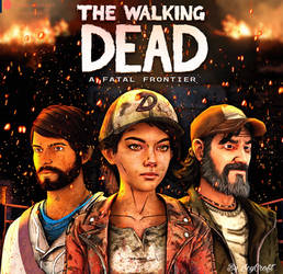 The Walking Dead a Fatal Frontier poster