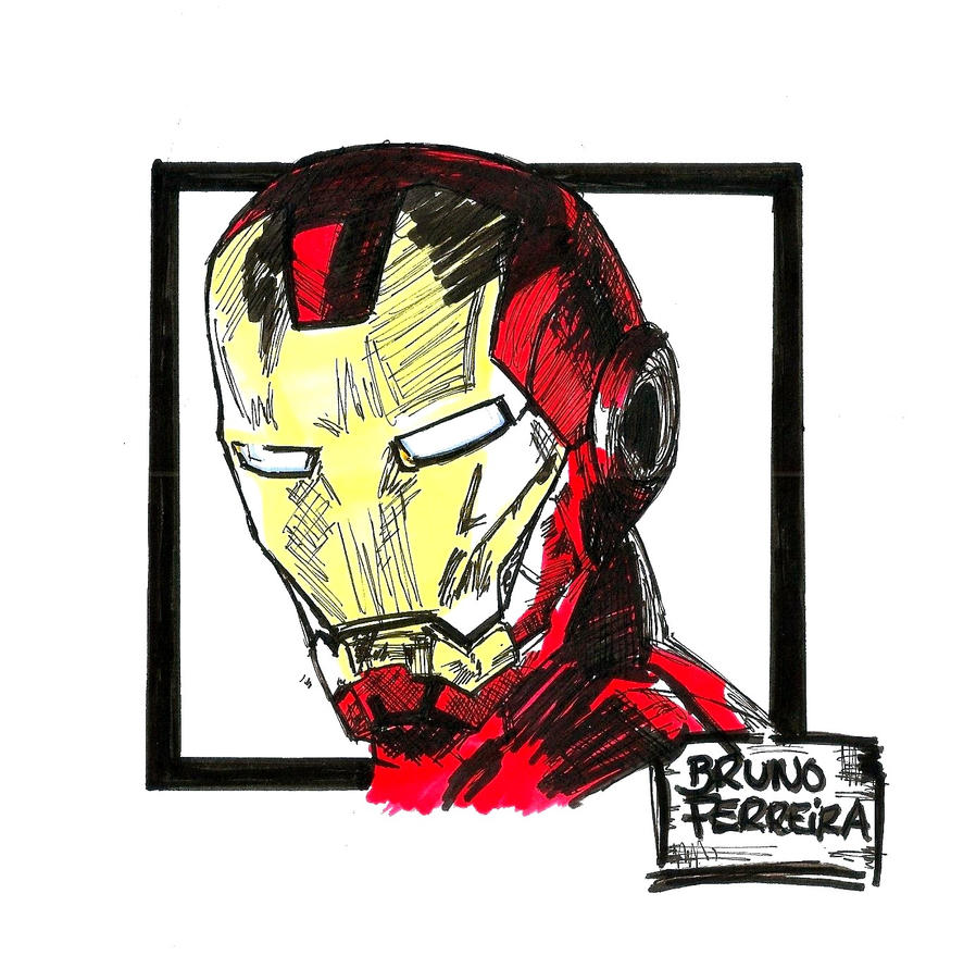 Iron Man by BrunovicArt