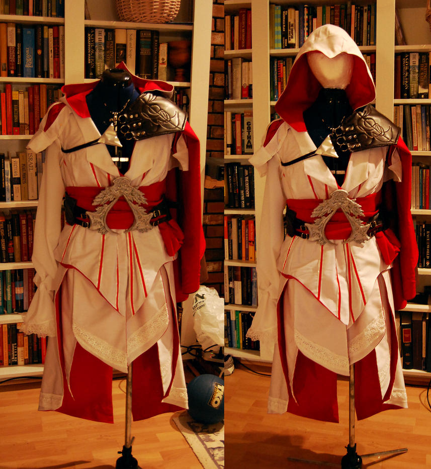 Female AC2 Costume Nearly Done by DragonLadyCels