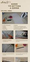 How to set a Zipper - Tutorial