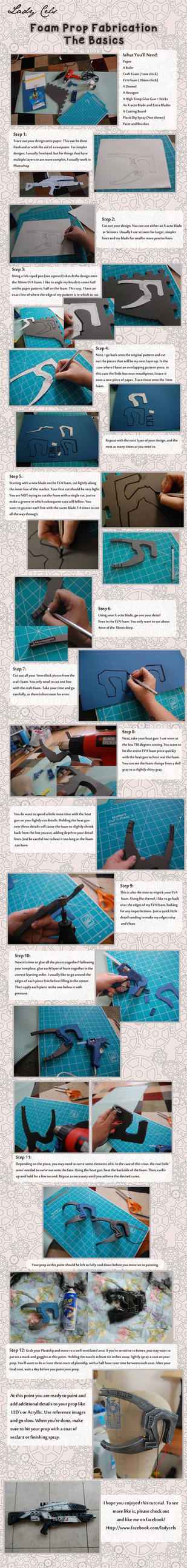 Tutorial - Basic Foam Props by DragonLadyCels